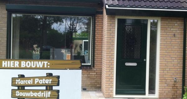 Uitbouw entree Hoogland