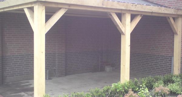 Veranda-tuin overkapping Scherpenzeel